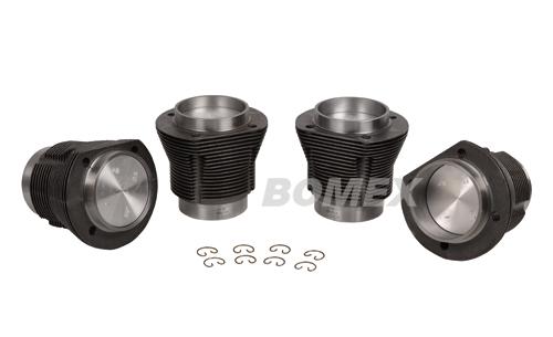 Kolben+Zylinder, 85.5x69,1.6, geschmiedet, Käfer, Karmann,Kübel, Bus