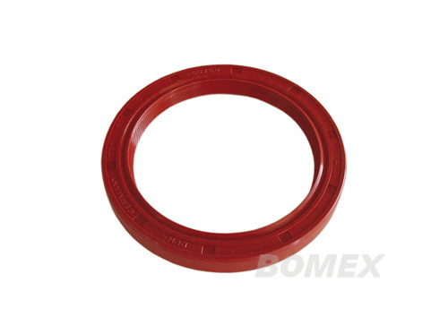 Wellendichtring, Silikon, rot, 34PS-