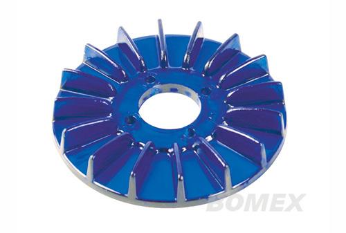 Abdeckung, Generatorscheibe, transparent, blau