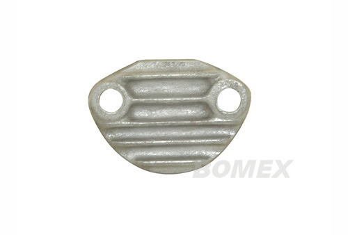 Benzinpumpenabdeckplatte, Aluminium