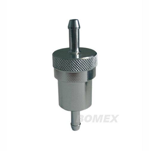 Benzinfilter, Aluminium, 6mm-Anschluß