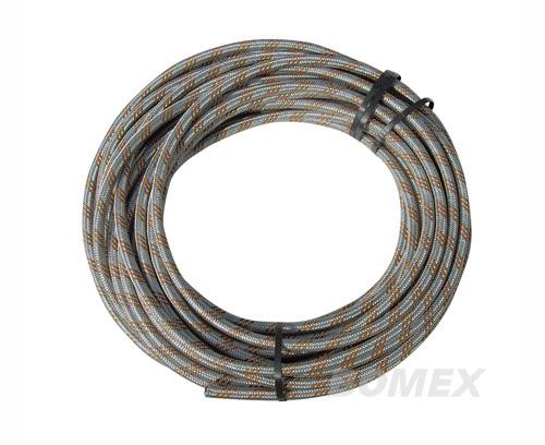 Benzinschlauch, 6mm, metallummantelt