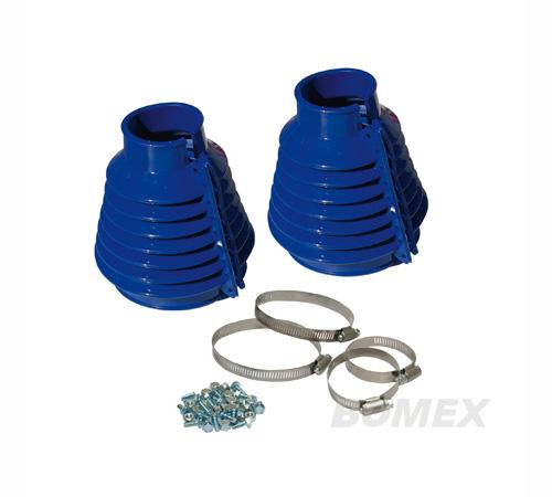Achsmanschetten, Pendelachse, blau