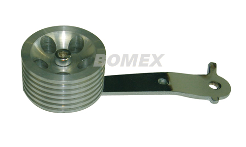 Roller-Pedal, Aluminium, Billet Style, Käfer, Karmann