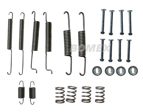 Anbausatz, Bremsbacken, hinten, Golf 1+2, 78-92, 180mm