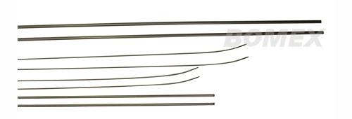 Zierleisten, 8-teilig, schwarz, Golf 1 + Cabrio