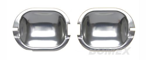 Türgriffschalen, Aluminium, Golf 2, 2-türig