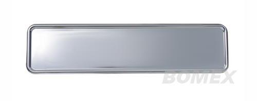 Kennzeichenunterlage, Aluminium, 520x112mm