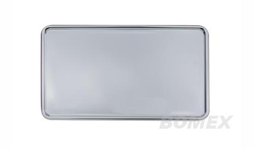 Kennzeichenunterlage, Aluminium, 345x205mm