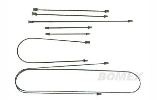 Bremsleitungen, 1958-1966