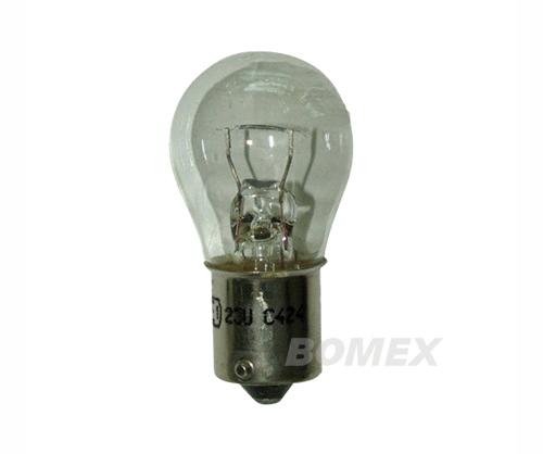 Glühlampe, Einfaden, 6 Volt, 21 Watt