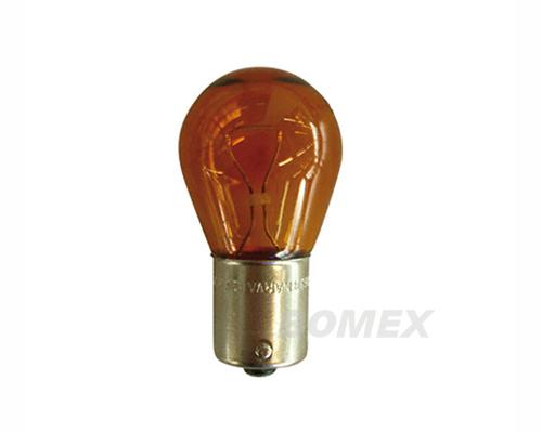 Glühlampe, Einfaden, orange, 12 Volt, 21 Watt