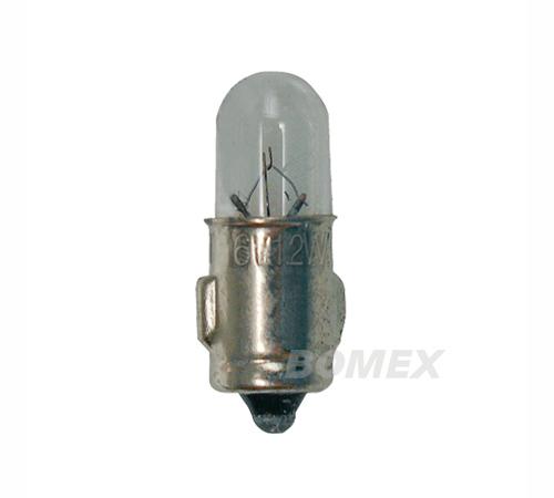 Glühlampe, Tachobeleuchtung, 6 Volt, 1.2 Watt