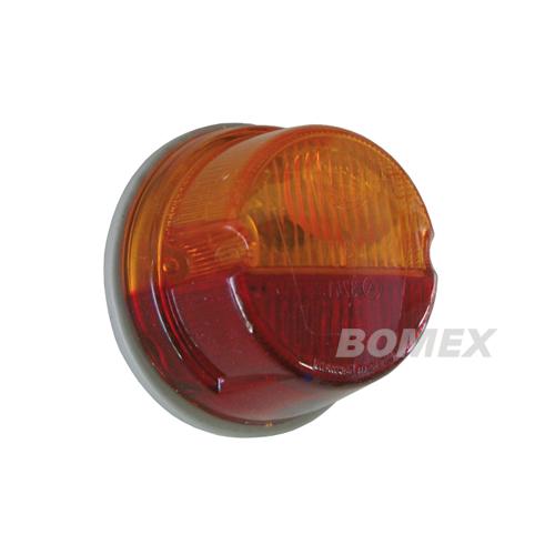Brems-/Blinkleuchte, rot/orange, Käfer