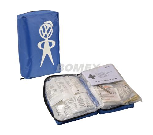 Verbandtasche, VW-Männchen, Blau