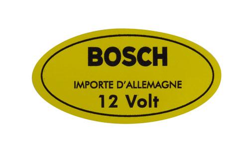 "Aufkleber ""12 Volt"",Zündspule,gelb,8.67-"