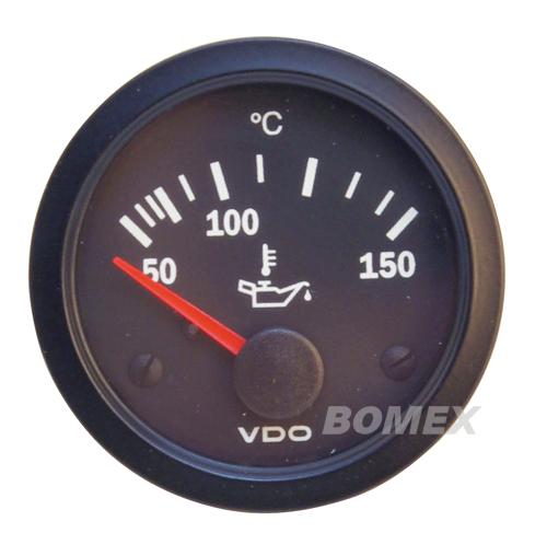 "VDO Ölthermometer ""Vision"", Ø 52mm"
