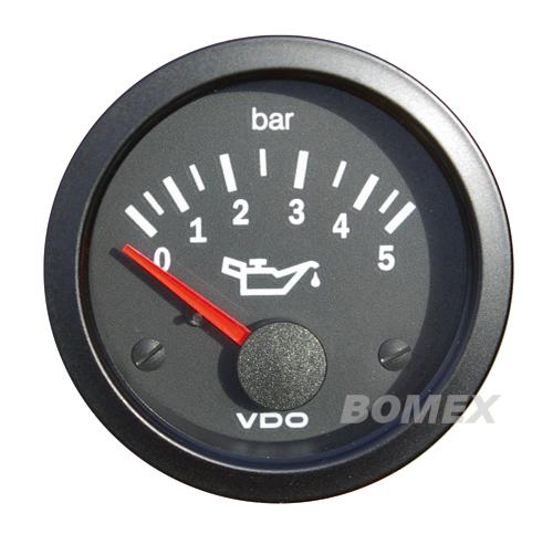 "VDO Öldruckmesser ""Vision"", 5 bar, Ø 52mm"