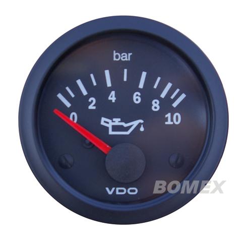 "VDO Öldruckmesser ""Vision"", 10 bar, Ø 52mm"