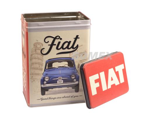 Vorratsdose, Fiat 500, Good things are..