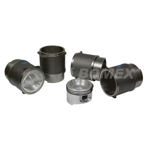 Kolben & Zylinder, 94,x76mm, 2.1, WBX, Bus T3