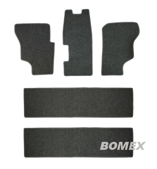 Fußmatten, schwarz, 5-tlg., Bus T3, Diesel