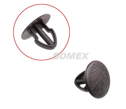 Clip für Verkleidungen, seitlich/hinten ,schwarz , Bus T3