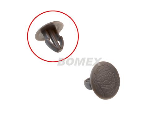 Clip für Verkleidungen, seitlich/hinten, grau, Bus T3