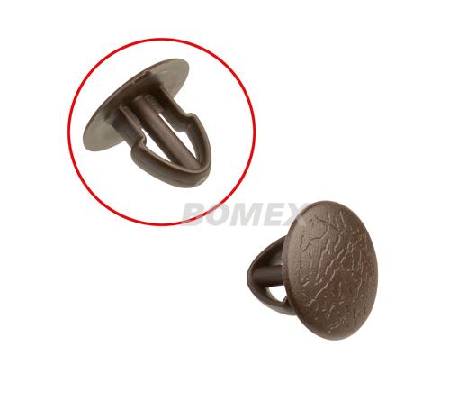 Clip für Verkleidungen, seitlich/hinten, braun, Bus T3