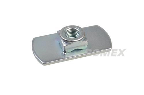 Gewindeplatte für Sicherheitsgurt, universal