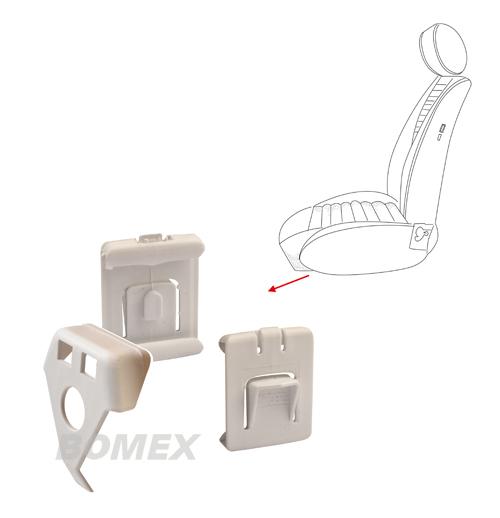 Sitzführung, Plastik, für Käfer Bj. 8.72-7.80