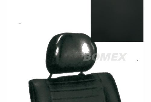 Kopfstützenbezüge, schwarz, Limousine/Cabrio, 1976-