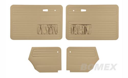 Tür- und Seitenverkleidungen, beige, Cabrio, 8.66-7.72