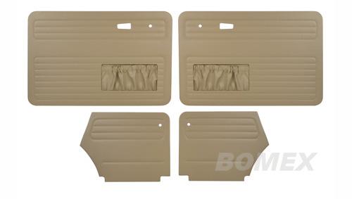 Tür- und Seitenverkleidungen, beige, Cabrio, 8.72-