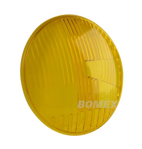 Scheinwerferglas, gelb, Hella, Karmann 8.60-7.69