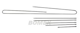 Bremsleitungssatz, Typ 181 (Kübel), Schräglenker