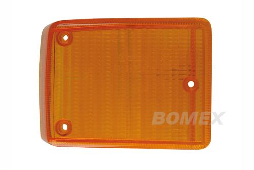 Blinkerglas, orange, vorne rechts, Bus T2, 8.72-7-79